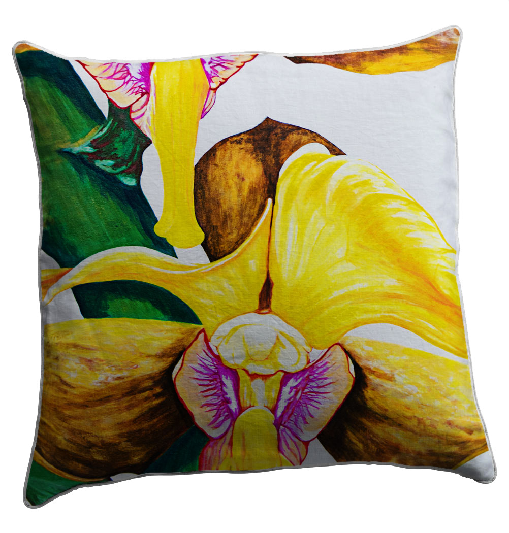 Repose Scatter Cushion - Artist Helen Dodge