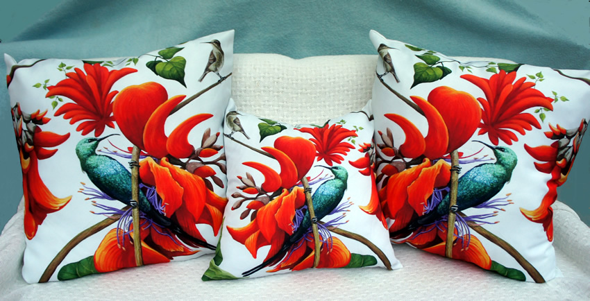 Fabulous Flowers Scatter Cushion Covers for sale