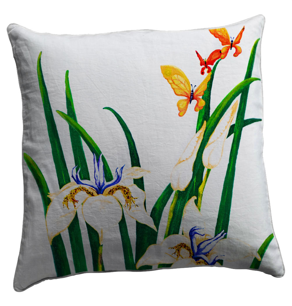 Fresh Scatter Cushion - Helen Dodge Artist