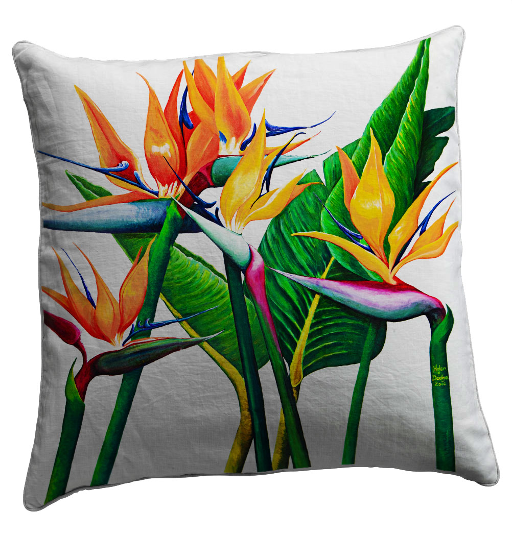 Unique Majestic Scatter Cushion - Artist Helen Dodge