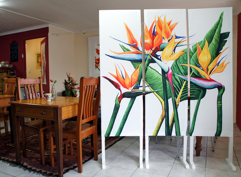 Room Divider simple strelitzia - Helen Dodge